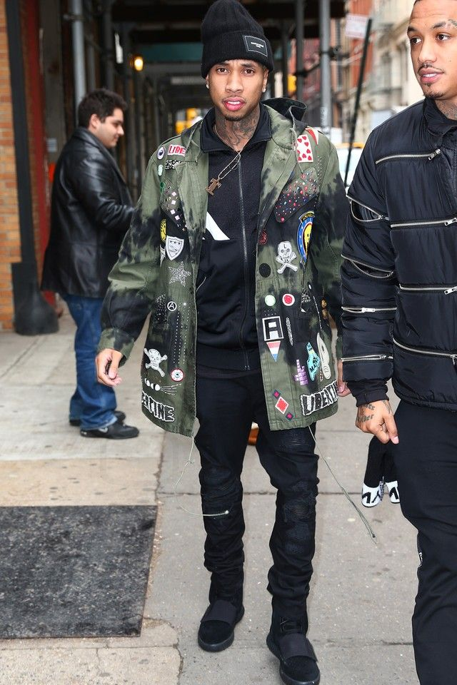 Tyga - On a Shopping spree with Kanye West on in 2019 ...