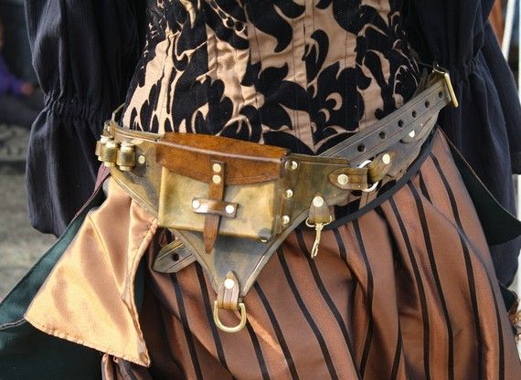Steampunk utility belt
