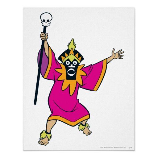 Witch Doctor Villain | Scooby Doo | Scooby doo, Halloween