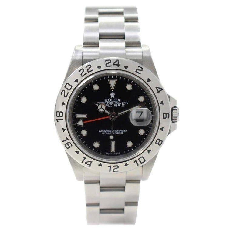 Rolex Explorer Ii 16570 Band Dial Contemporary