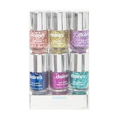 Glitter Nail Polish Set Of 6 Glitter Nail Polish