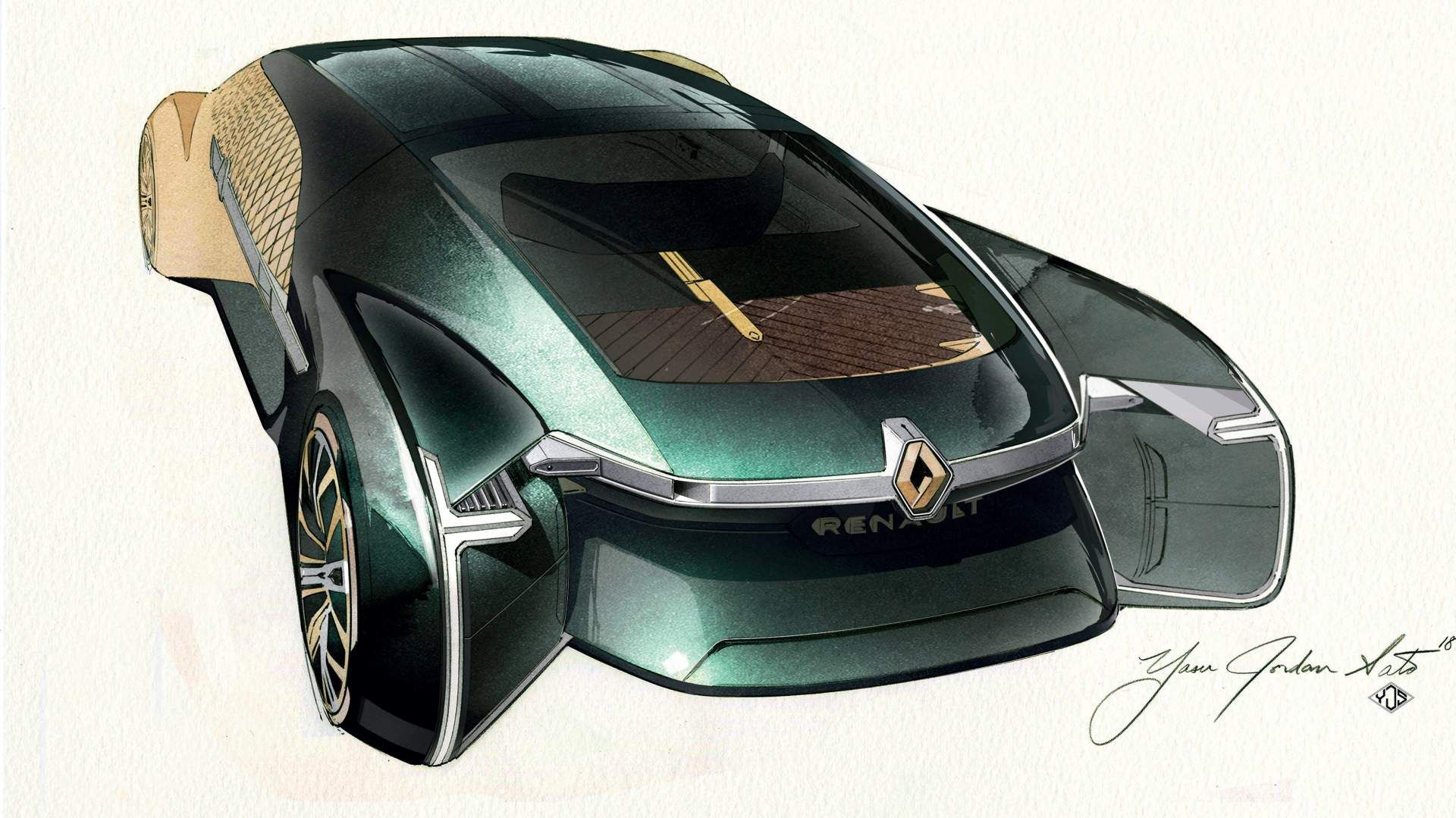 Renault Ez Ultimo Concept Envisions Self Driving Luxury Lounge
