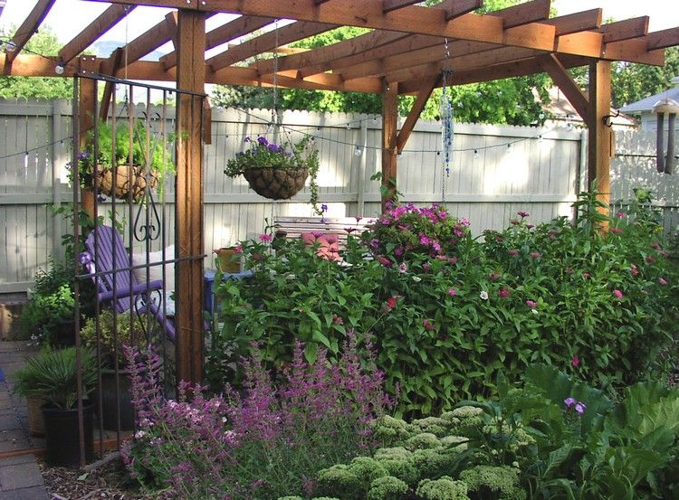 Sichtschutz Zaun oder Gartenmauer \u2013 102 Ideen für Gartengestaltung