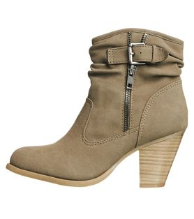 Just Jeans - Womens - Accessories - Clara Buckle Zip Ankle Boot  Just Jeans