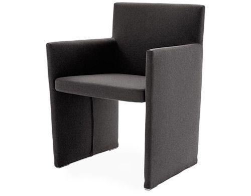 Posa Work Chair Armchair B B Italia Fabric Armchairs