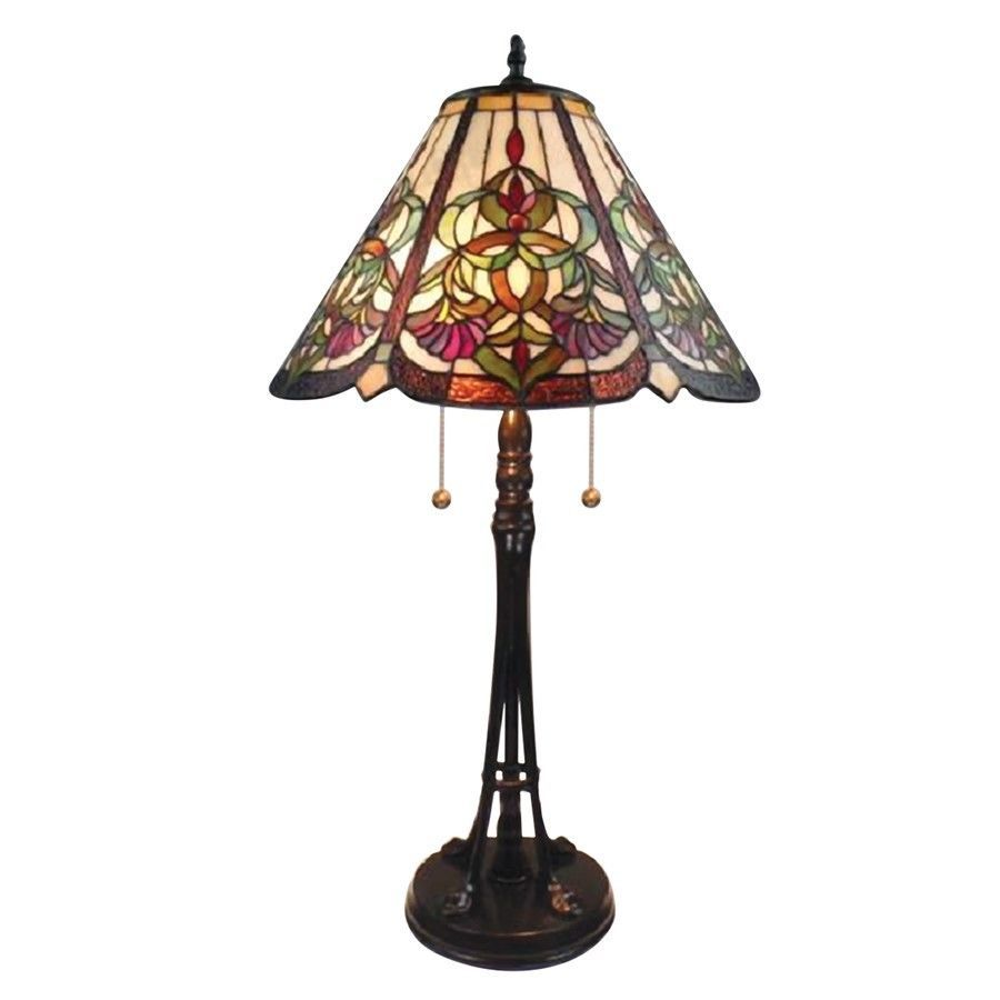 Dale Tiffany Baja Table Lamp, Tiffany Bronze - TT14253 #DaleTiffany