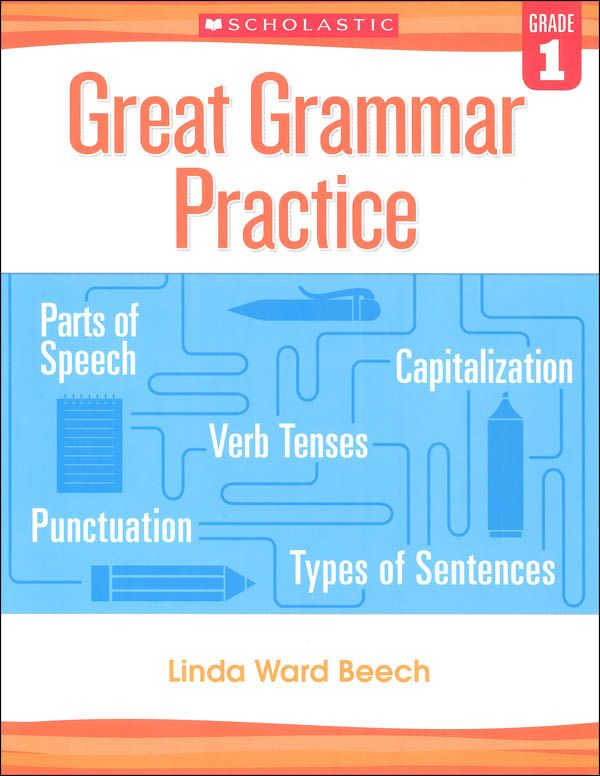 Great Grammar Practice Grade 1 | 1st, Curriculum Purchases | Grammar