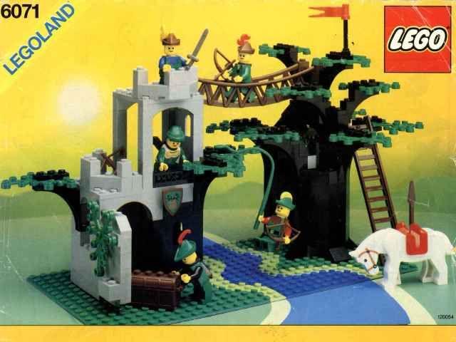 Set 6071-1 : Forestmen's Crossing [Castle:Forestmen] - BrickLink ...