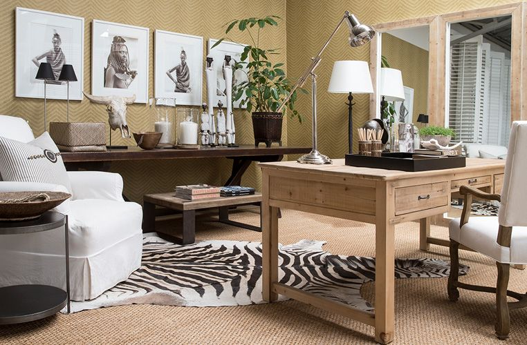 The Private House Company African Home Decor Lodge Interior Home