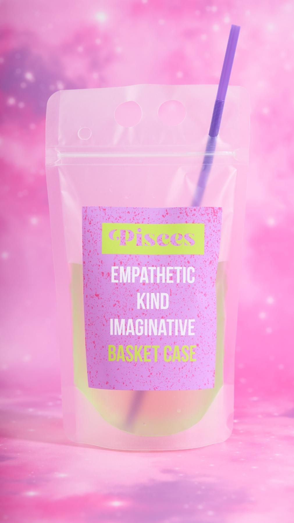 Astrology Inspired Drink Pouches