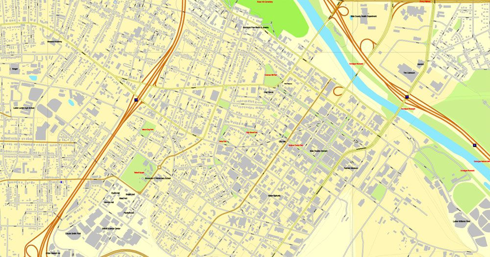 Macon printable map, Georgia, US, vector street City Plan map, fully editable, Adobe Illustrator, V3.10, full vector, scalable, editable, text format  street names, 8 Mb ZIP. GET IT NOW>>> http://vectormap.info/product/macon-printable-map-georgia-us-vector-street-city-plan-map-fully-editable-adobe-illustrator-v3-10/