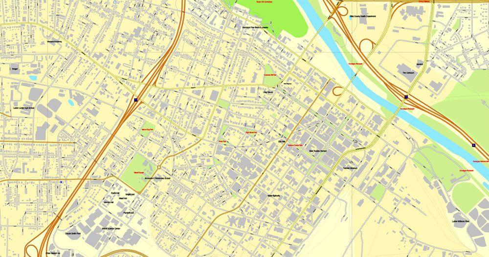 Macon printable map, Georgia, US, vector street City Plan map, fully editable, Adobe Illustrator, V3.10, full vector, scalable, editable, text format  street names, 8 Mb ZIP. GET IT NOW>>> http://vectormap.info/product/macon-printable-map-georgia-us-vector-street-city-plan-map-fully-editable-adobe-illustrator-v3-10/