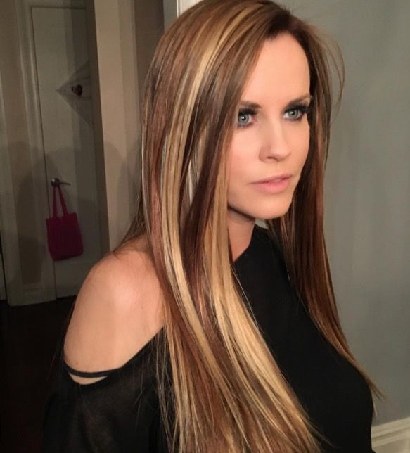Jenny Mccarthy Loves Her New Hair That Was Provided By Want Hair