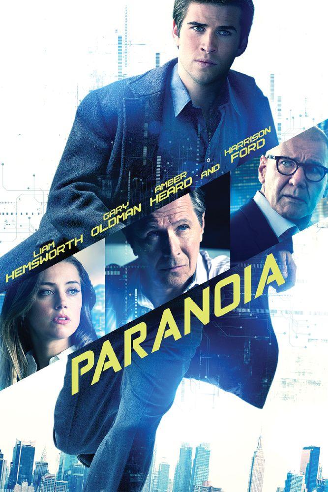Paranoia Poster Artwork Liam Hemsworth Gary Oldman Amber Heard Movie Poster Artwork Finder Paranoia Dvd Hemsworth