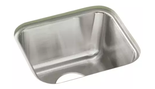 Sterling Ucl1515 Stainless Steel Springdale 14 1 4 Single Basin Undermount Stainless Steel Bar Sink With Silentshield Stainless Steel Bar Steel Bar Bar Sink