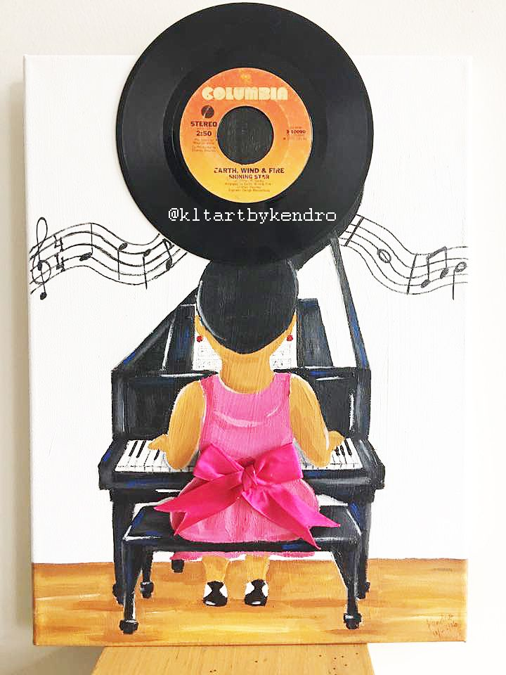 """Play Me A Song"" #kltart FREE SHIPPING   #pianoart #blackfriday #blackfridaydeals #blackowned #blackbusiness #musicart #artbuyer #etsy #etsyart #etsyseller #etsystore #etsysale #smallbizsat #shopsmall #blackart #kwanzaa #happykwanzaa #thanksgiving #christmassale #holidaysale #blackownedbusiness #blackbiz #afroart #naturalhairart #representationmatters #blackgirlmagic #blackgirlsrock #afropuff #naturalhair"