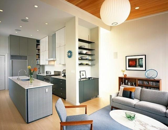 Moderne Häuser - 50 Ideen für die Inneneinrichtung ...