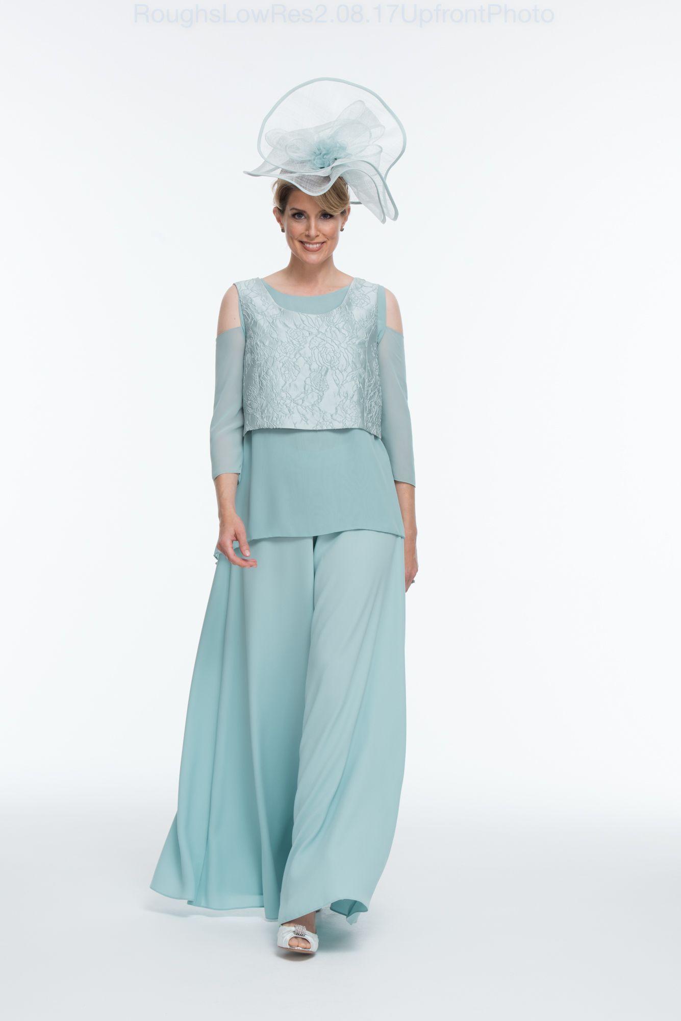 3 piece layered palazzo pant suit | Weddings | Pinterest | Palazzo ...