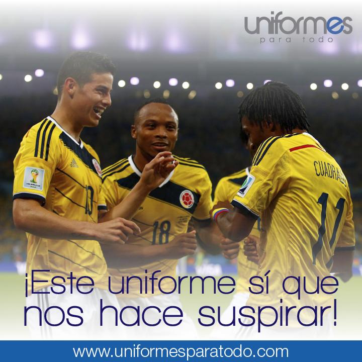 Hoy vibramos nuevamente con nuestra Selección Colombia - FCFSeleccionCol #UnidosPorUnPais #AmordeHincha #Colombia #UniformesparaTodo