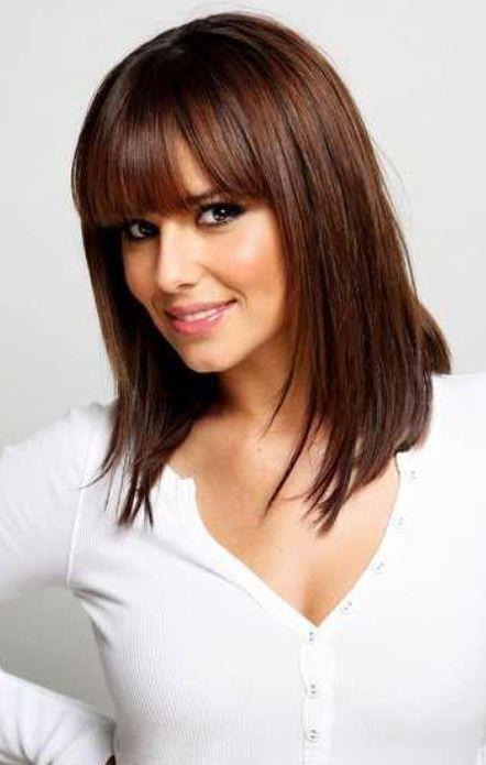 Pin By Veronica Ruloph On Hair Mid Length Hair With Bangs Hair Styles Bangs With Medium Hair