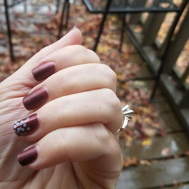 Love this fall manicure with Jamberry Drive Me Matte Lacquer and ...