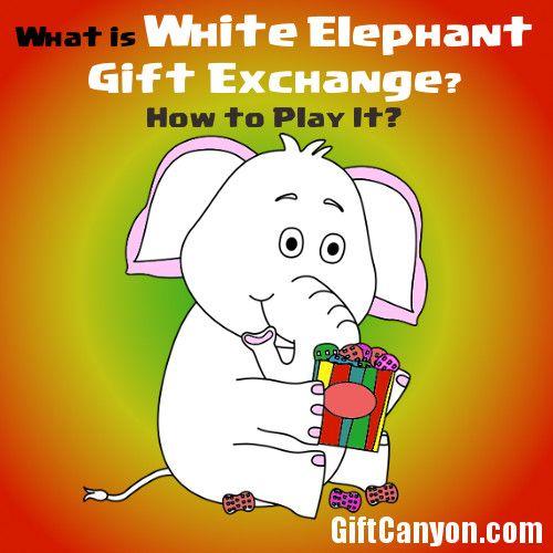 Rules of White Elephant Gift Exchange