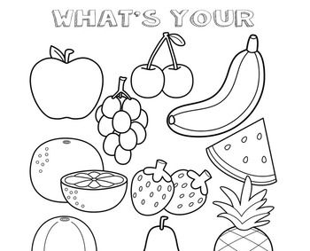 Preschool Lesson Plan and Detailed Activities- Fruits and