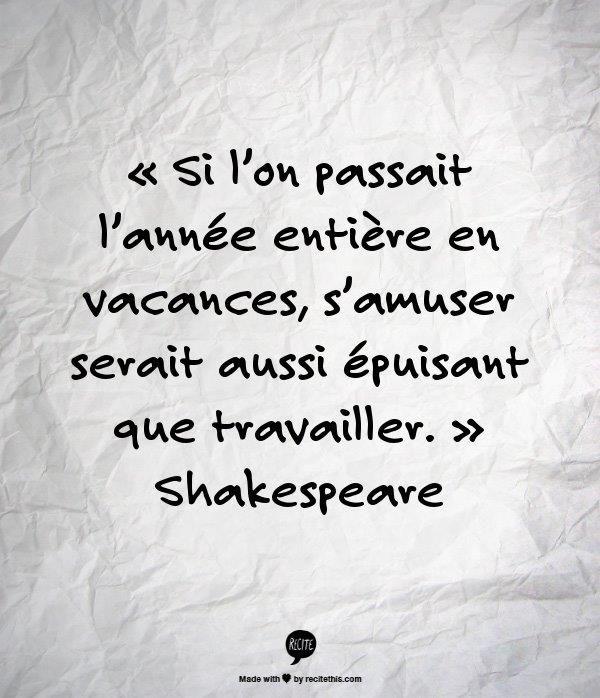 Articles A Propos De Shakespeare Sur Vous Tombez Pile Citations Sur Le Travail D Equipe Citations Travail Citation De Vie