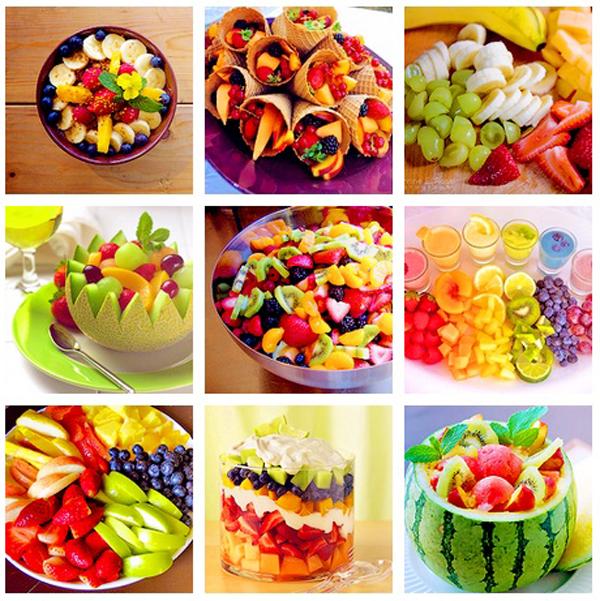 ideas y cosas para tus fiestas infantiles fruta para cumpleaos