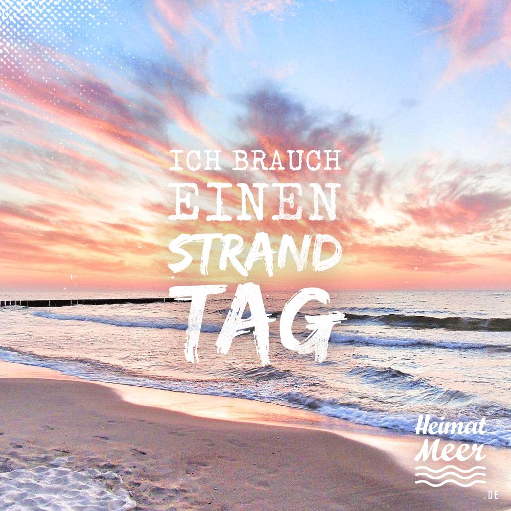 Ich brauch einen Strand-Tag! Schnappt euch die passende Strandklamotte auf Heimatmeer.de >>