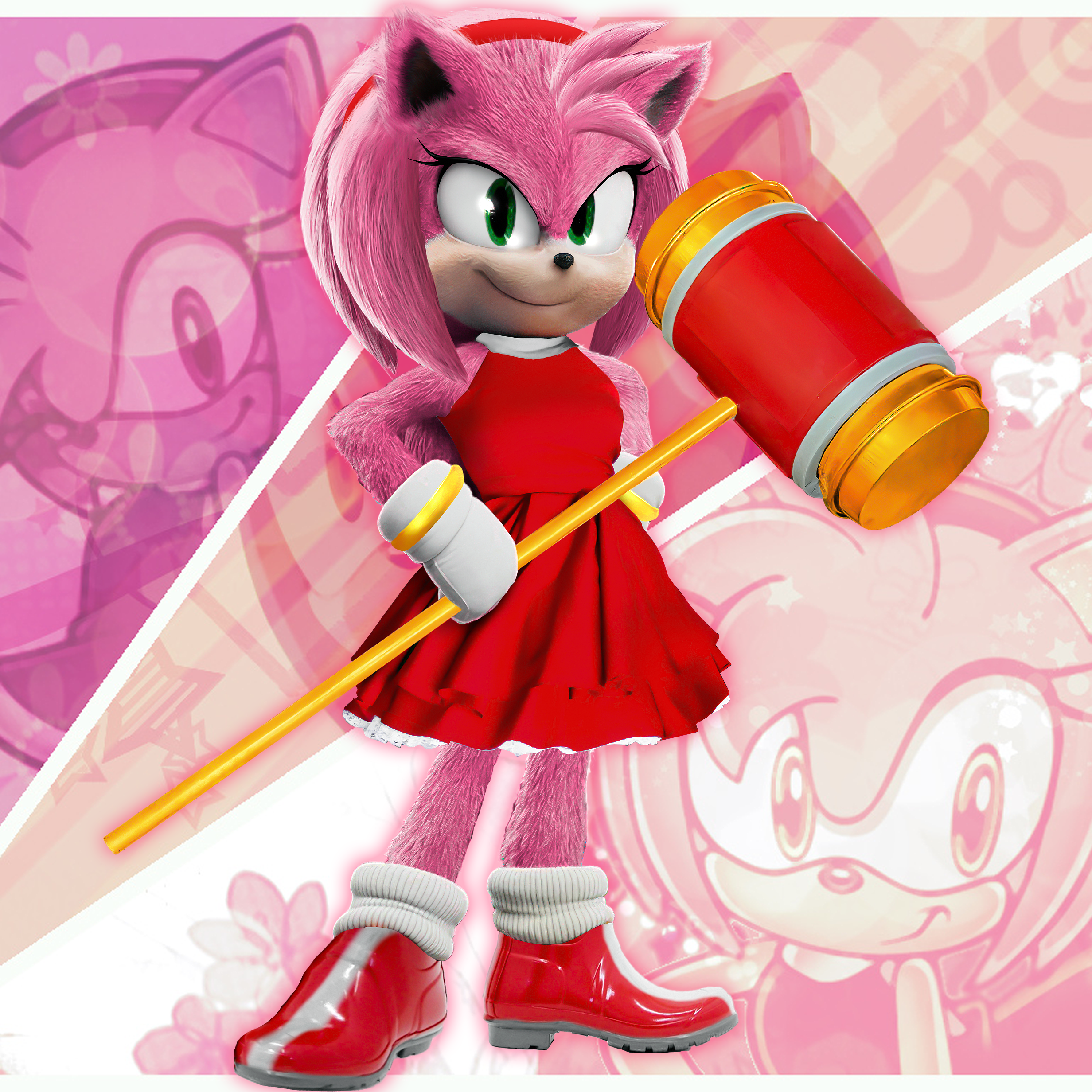 Sonic The Hedgehog 2006 - Amy Rose Voice Sound - YouTube
