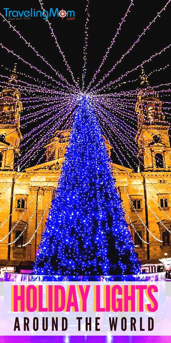 Where to see the best holiday lights around the world and