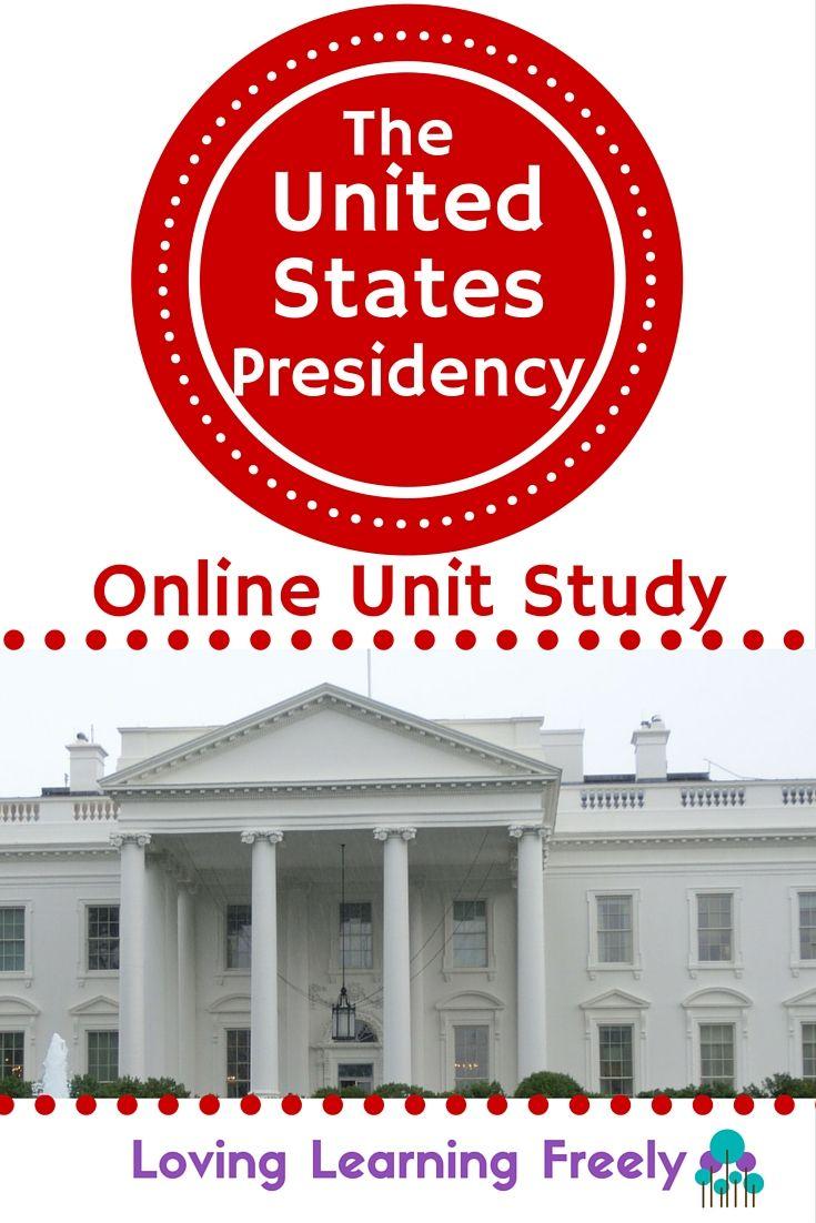 United States Presidency Unit Study Homeschool 2nd Grade