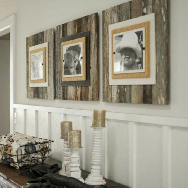 Bauen mit paletten die originellen ideen kennen keine grenzen ideen pinterest rahmen - Fotowand paletten ...