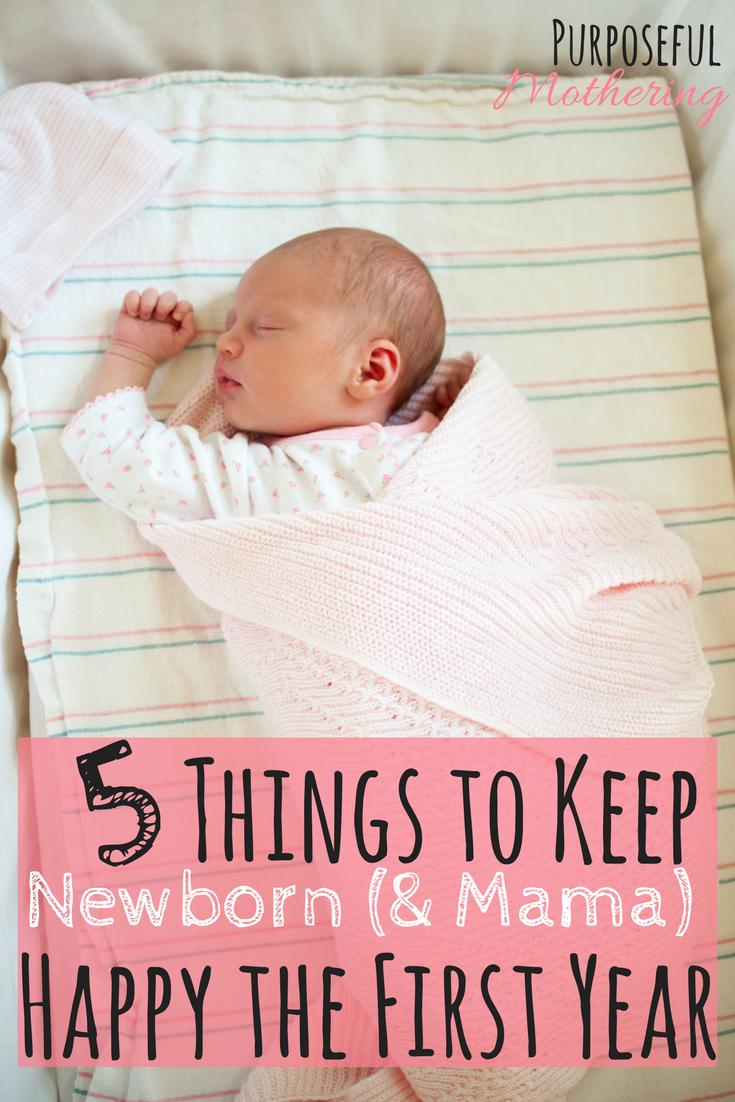 5 Things To Keep Newborn Mama Happy The First Year Expecting Baby Newborn Needs Newborn Baby Needs