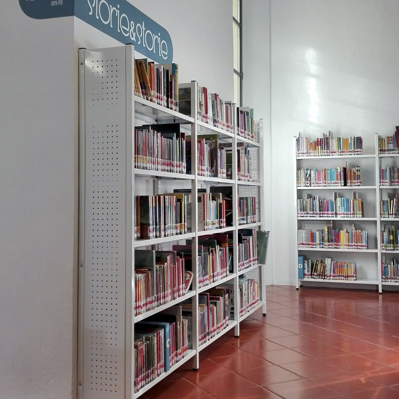 Arredamento Biblioteca Panizzi