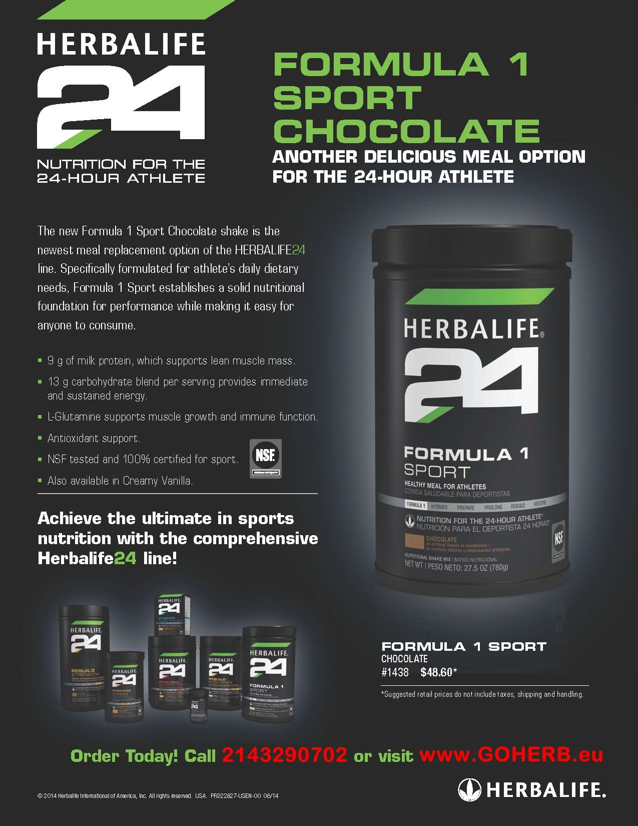 Try the NEWEST meal replacement option of the Herbalife24 line!  Purchase YOURS TODAY! All Herbalife products and nutritional/ beauty/ success advice