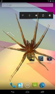 Spider In Phone Funny Joke Download From Our Apps Store Androidworldstore Free Live Wallpapers Funny Jokes Live Wallpapers