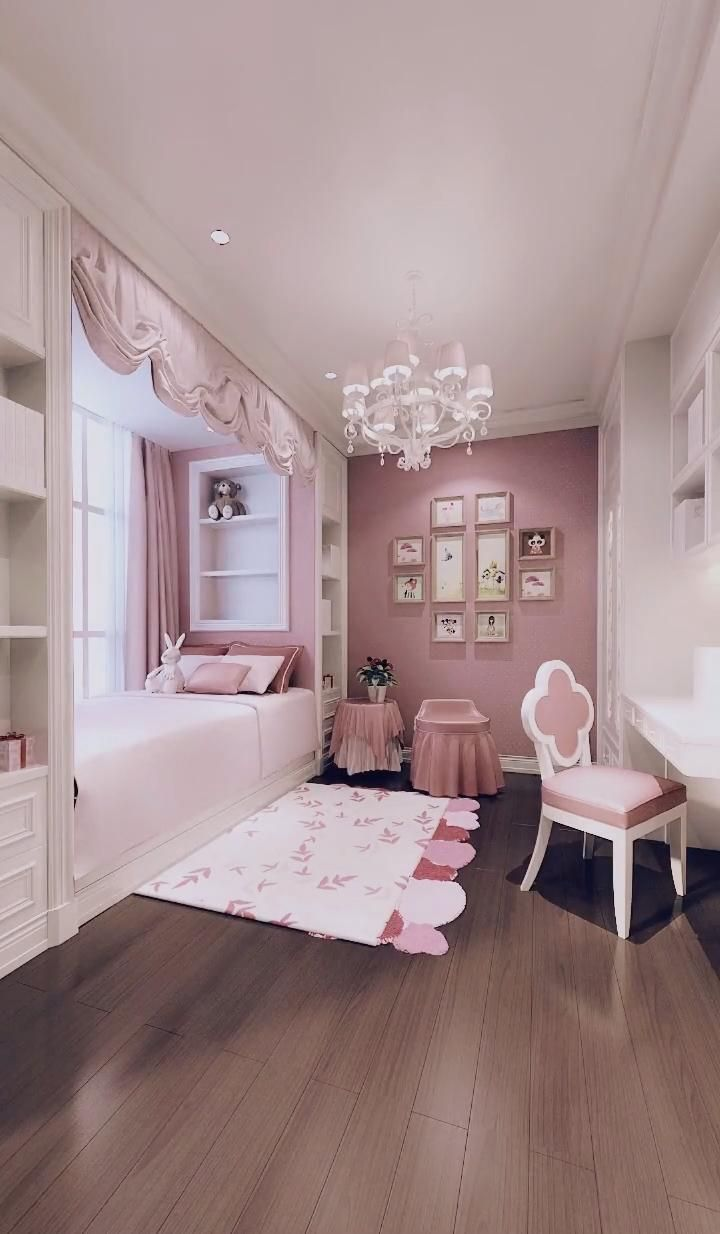 +20 Girly bedrooms
