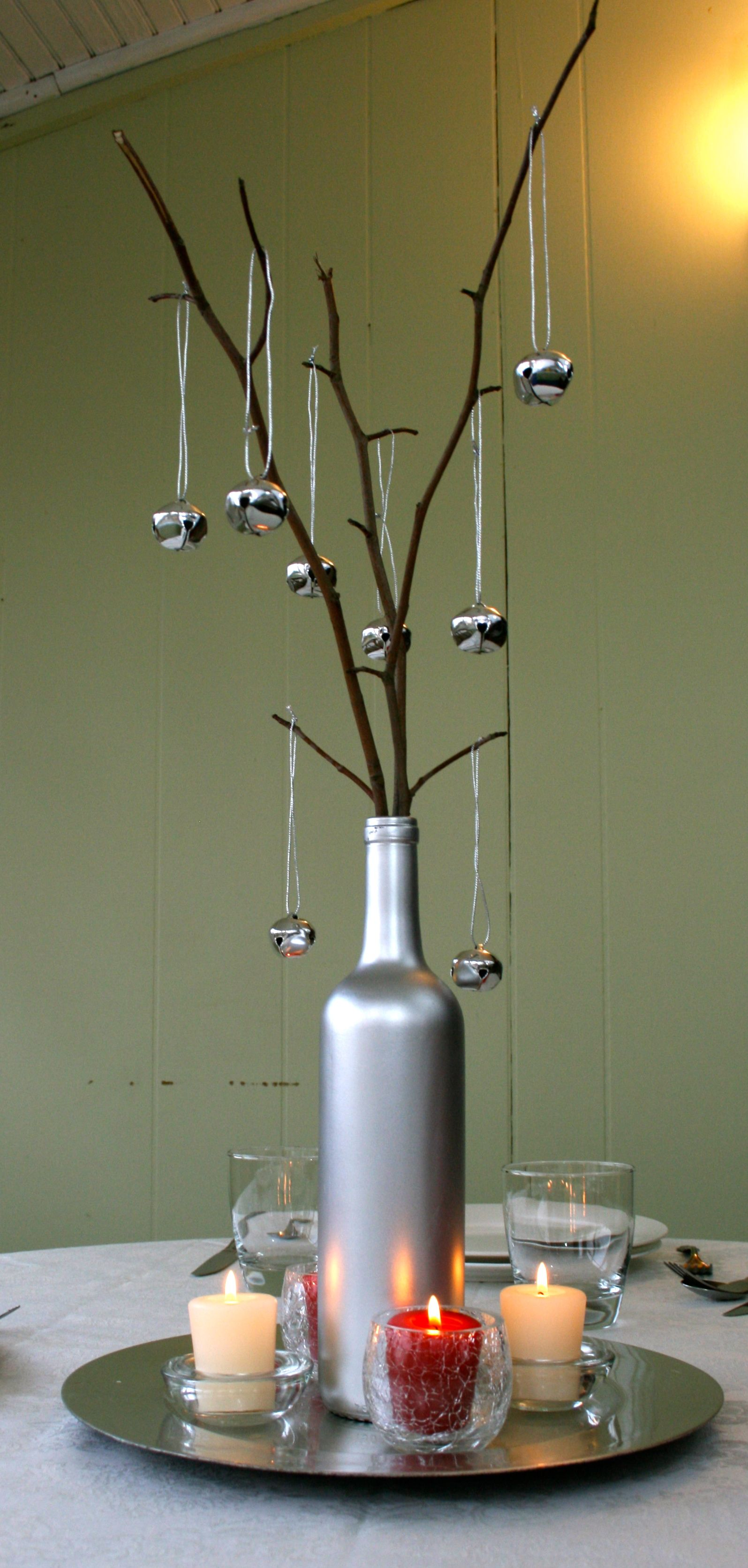 images about Wine bottle centerpieces Wine