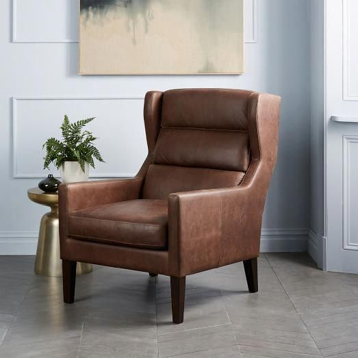 Wing Chairs On Sale Oversized Swivel Chair Cover Owen West Elm Whiteleatherchair
