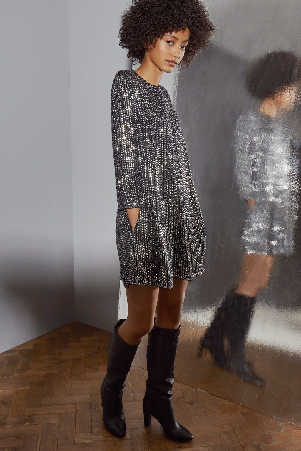 fd3a8c6e1d9 Desiree Disco Embellished Sequin Playsuit