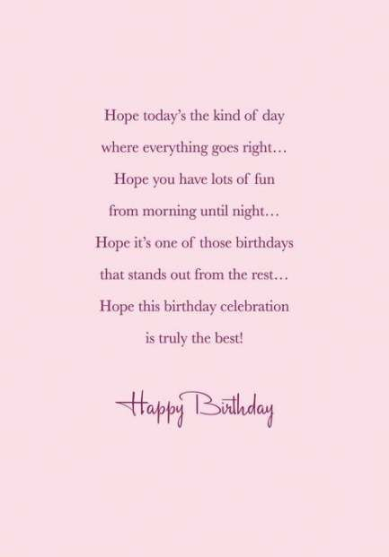 190 Free Birthday Verses For Cards 2019 Greetings And Poems For Friends Happy Birthday Wishes Quotes Happy Birthday Wishes Quotes Birthday Quotes For Her
