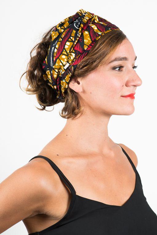 buying now new lifestyle 100% quality Comment porter un bandeau à cheveu ou un turban   Bandeaux à ...