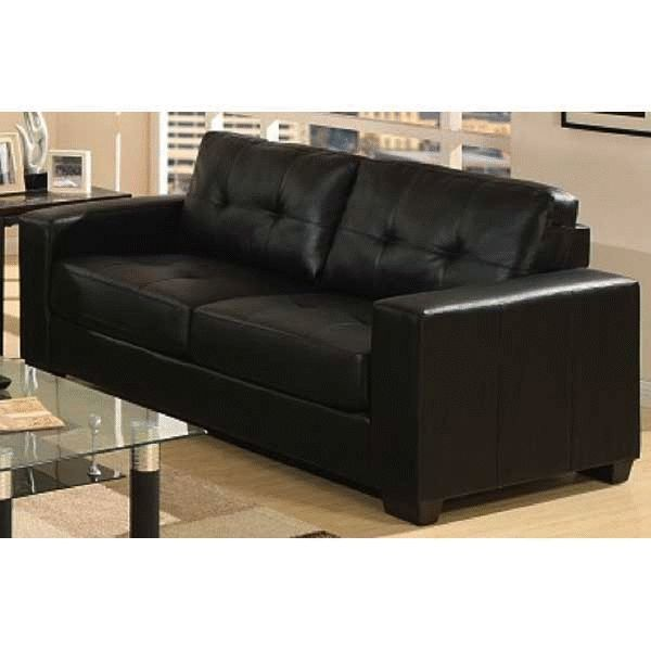Prime Ashton Black Sofa 2A 9071S The Ashton Black Bonded Leather Alphanode Cool Chair Designs And Ideas Alphanodeonline