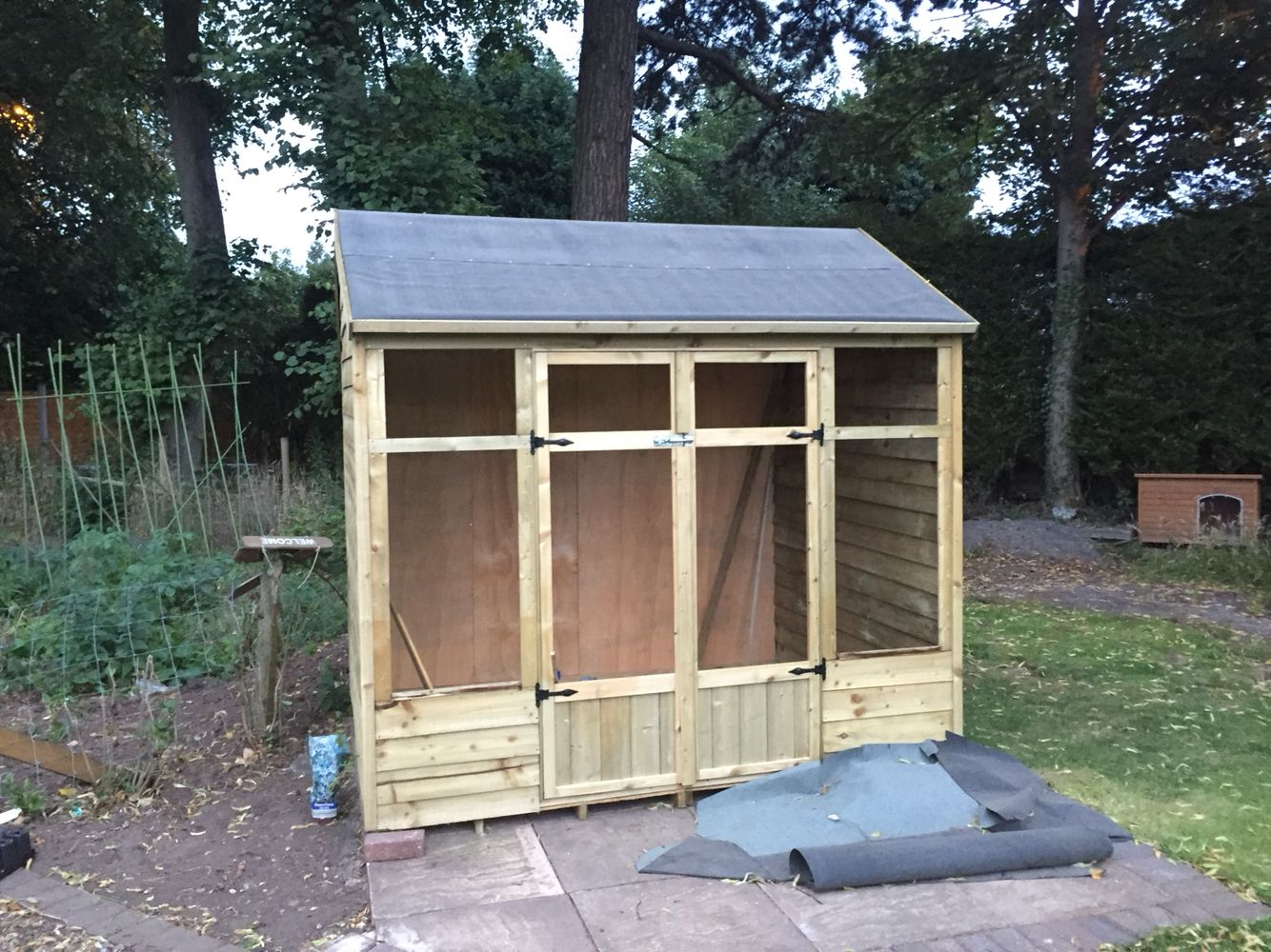 Before | Shed cost, Shed, Outdoor structures