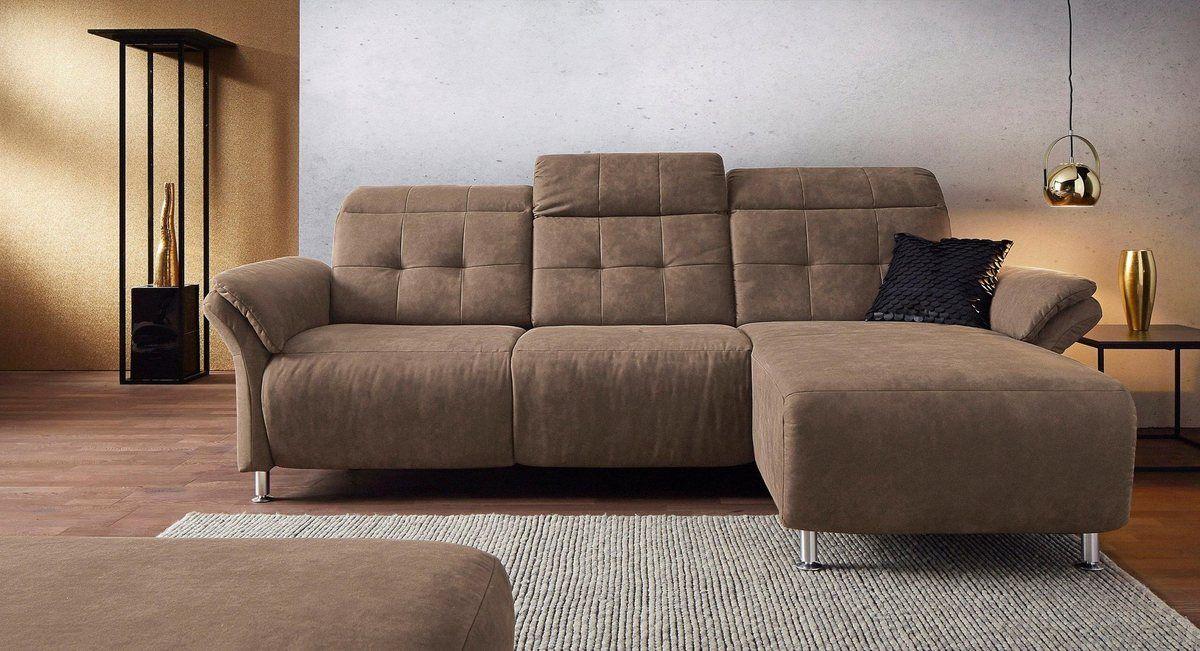 Places Of Style Ecksofa Manhattan 2 Sitze Mit Elektrischer Relaxfunktion Verstellbare Armlehnen Online Kaufen Ecksofas Ecksofa Sofa