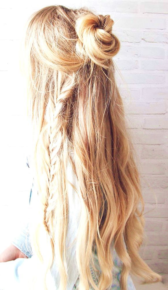 43 Bohemian Hairstyles Ideas For Every Boho Chic Junkie Bohemian Hairstyles Short Hair Styles Easy Half Updo Hairstyles