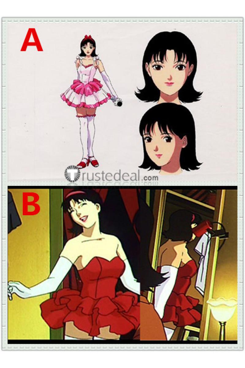 Perfectblue Mima Kirigoe Red Pink Dress Cosplay Costumes In 2020 Blue Costumes Blue Anime Cosplay Costumes