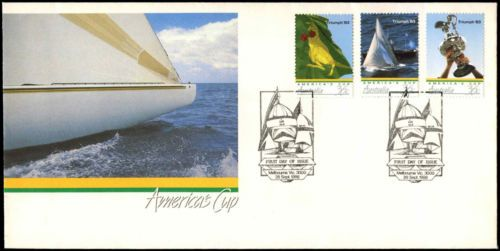 #Australia 1986 #america's cup #yachts sailing fdc first day cover #c36683,  View more on the LINK: http://www.zeppy.io/product/gb/2/381788702382/